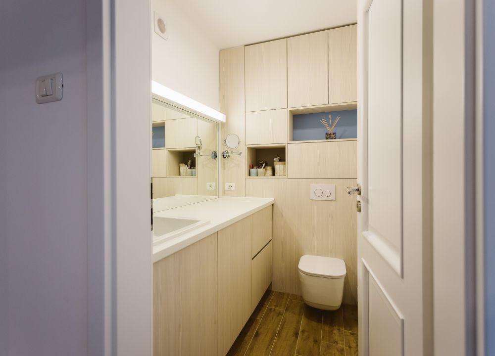 hangend toilet inbouwkast