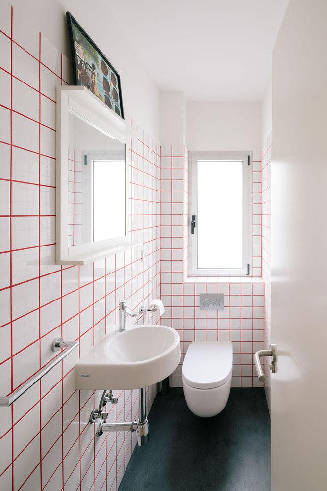 hangend toilet smal toilet