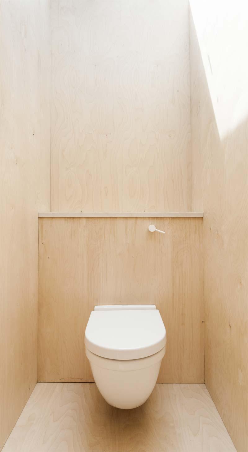 hangend toilet underlayment