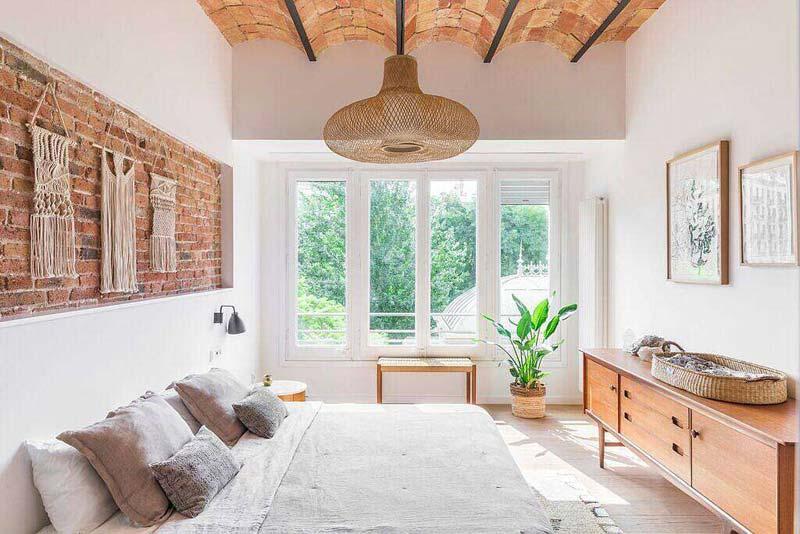 hanglamp boven bed