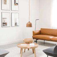 10x Hanglamp boven salontafel