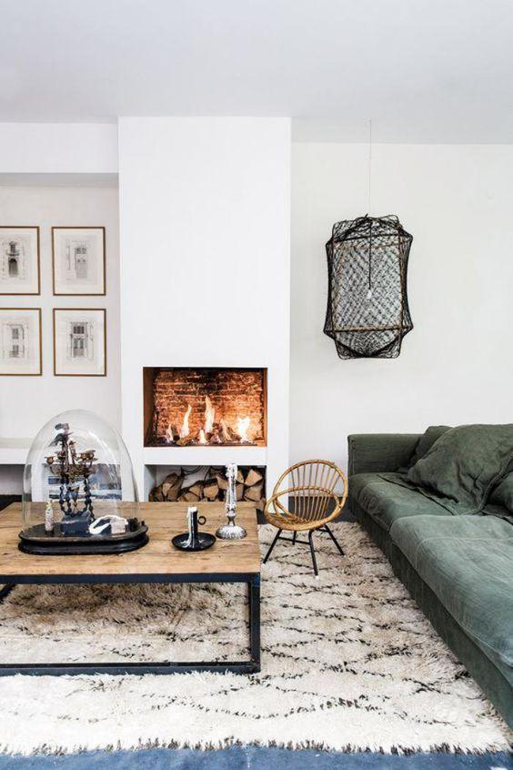 Cement Verf Badkamer ~ Hanglamp in de hoek  Inrichting huis com