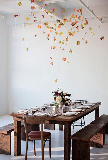 Herfst in interieur