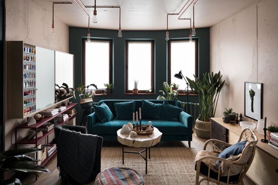 Het inspirerende interieur van het Kalama Relax Center