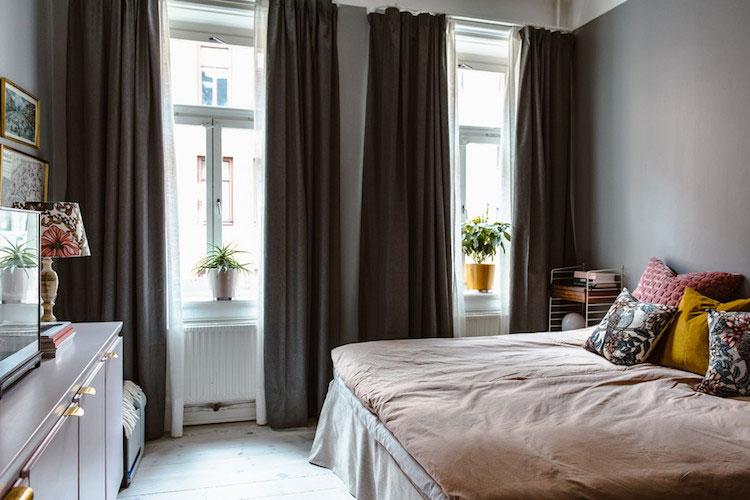 Het leuke en knusse appartement van Karolina en Erik