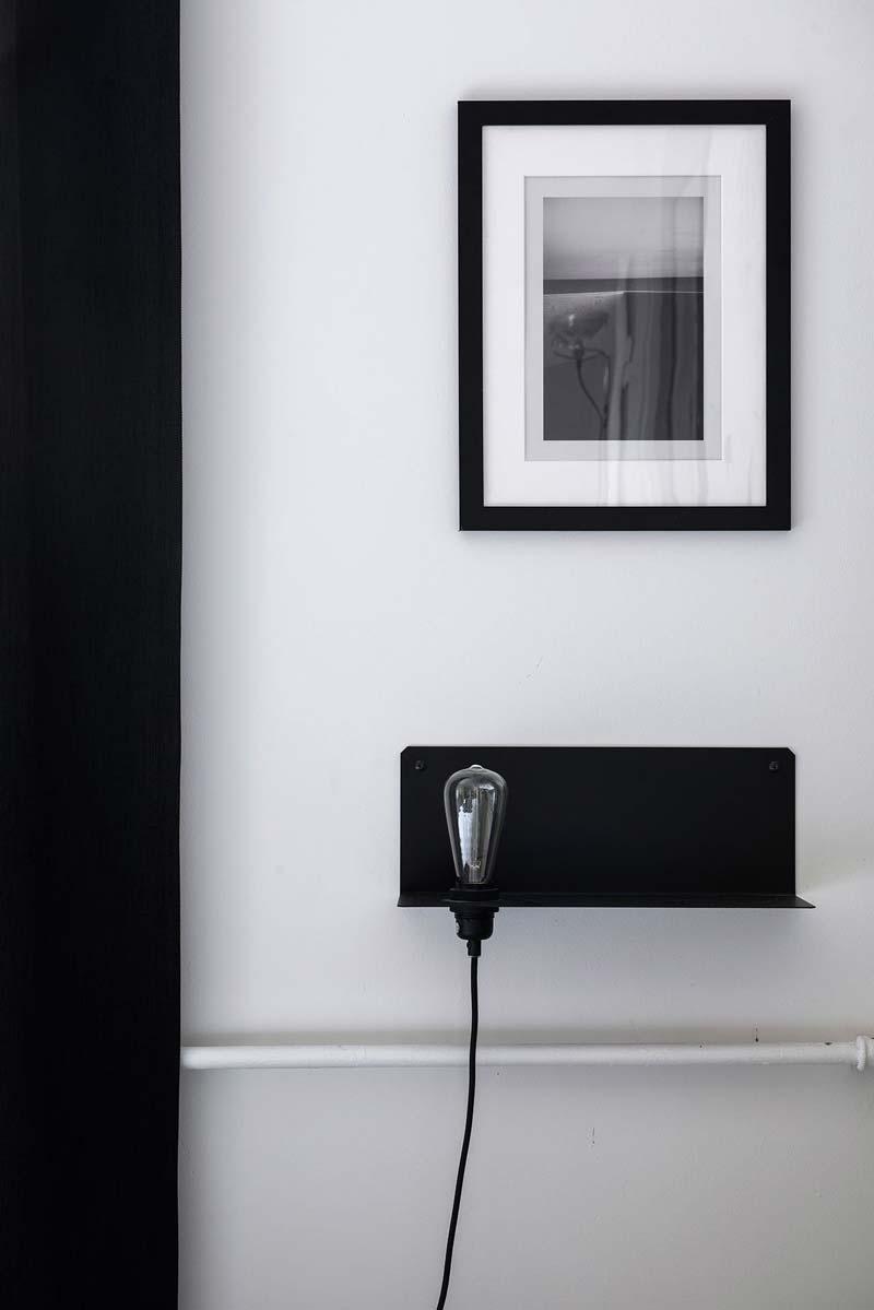 Frama nachtkastje lamp zwart