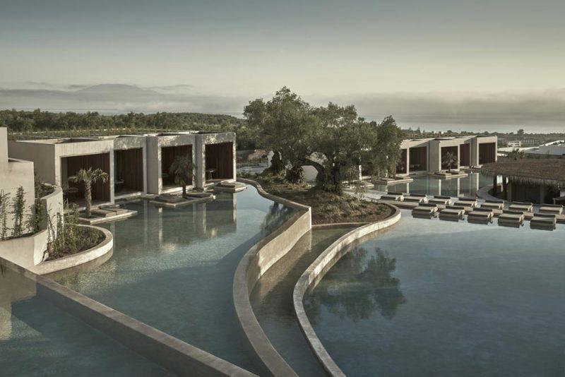 Het OLEA All Suite Hotel in Tsilivi