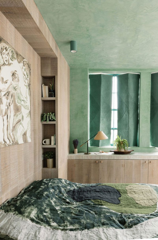 Het unieke loft appartement van architect Zoe en ontwerper en designer Merlin