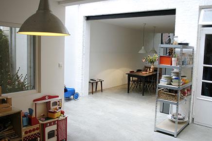 Hip huis te koop in voormalig winkelpand Rotterdam