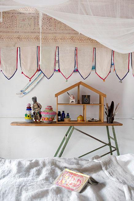 Hippie slaapkamer van Trish & Nathan