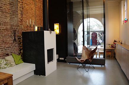 Historisch pakhuis gerenoveerd door architect inrichting - Oud gerenoveerd huis ...