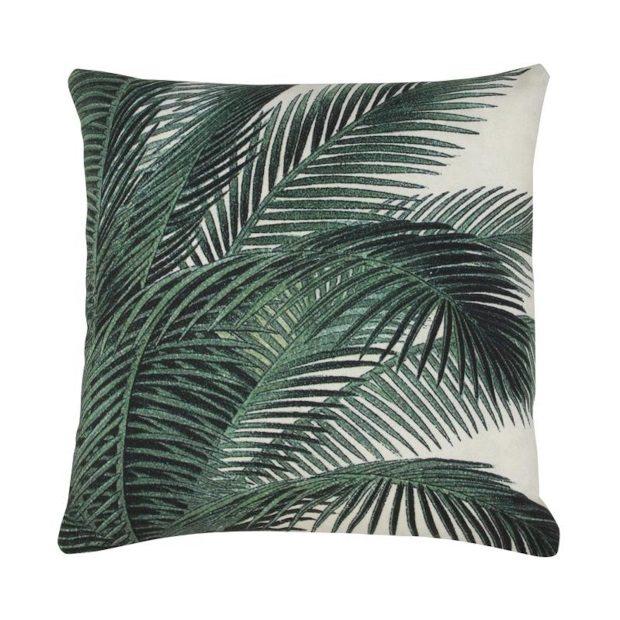 HK Living palm bomen kussen