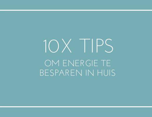 hoe besparen op energiekosten tips