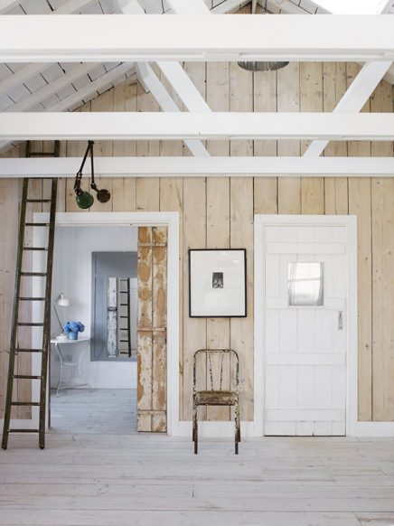 Hoe houten balken schilderen