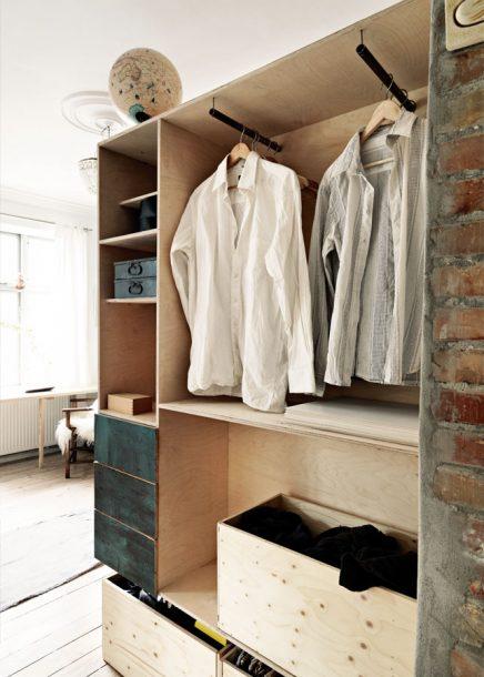Hoogslaper kledingkast