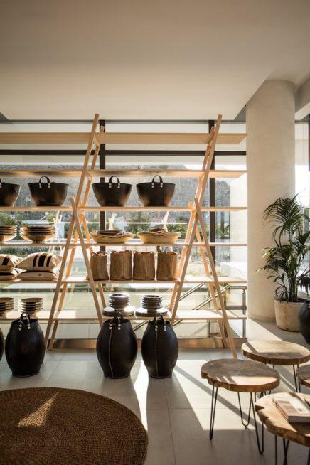 hotel casa cook in rhodos inrichting. Black Bedroom Furniture Sets. Home Design Ideas
