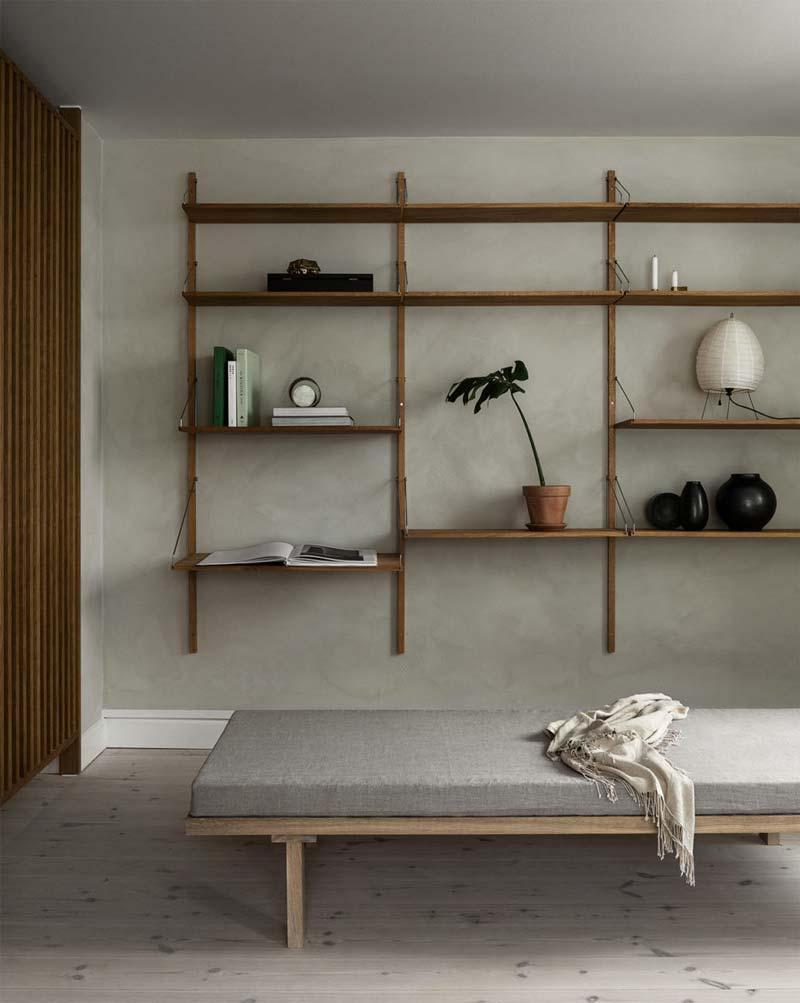 houten accenten interieur
