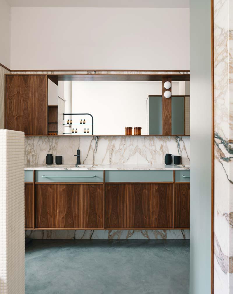 houten badkamermeubel badkamer