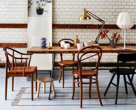 Houten eetkamerstoelen | Inrichting-huis.com