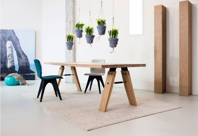 10x Vierkante Eettafel : Moderne eettafels van odesi op een rij inrichting huis
