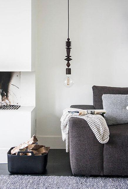 Houten hanglampen van Marz Designs