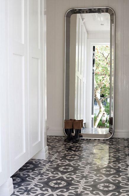 Houten huis van interieurontwerpster Vigdis A.Bergh