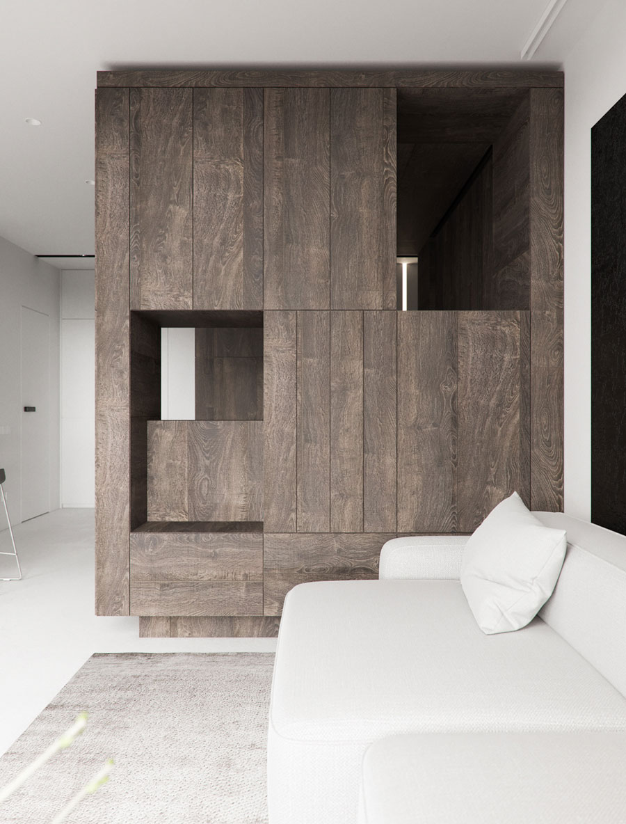 houten kast woonkamer