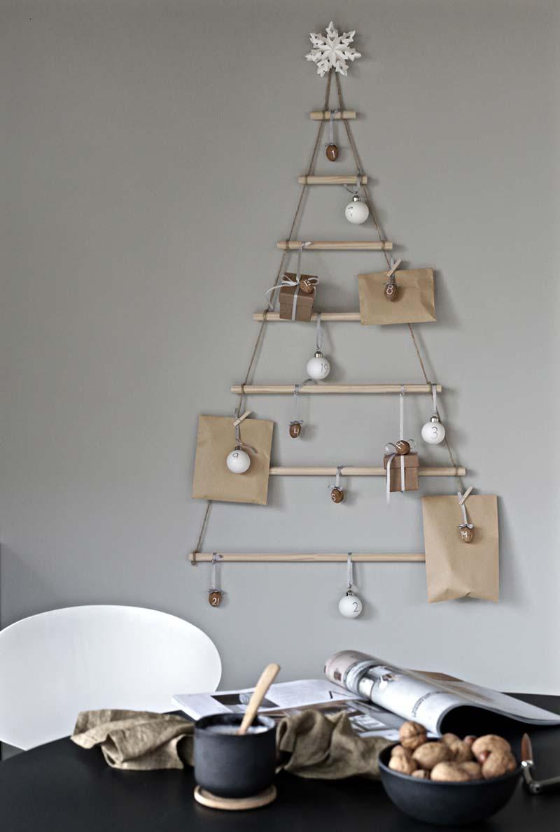 houten kerstboom maken scandinavisch