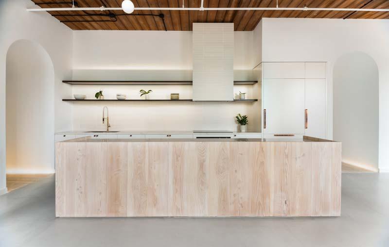 houten keukeneiland