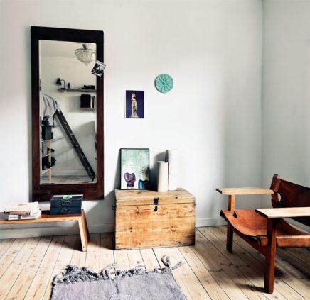 Creatieve slaapkamer met gerecycled hout  Inrichting-huis.com