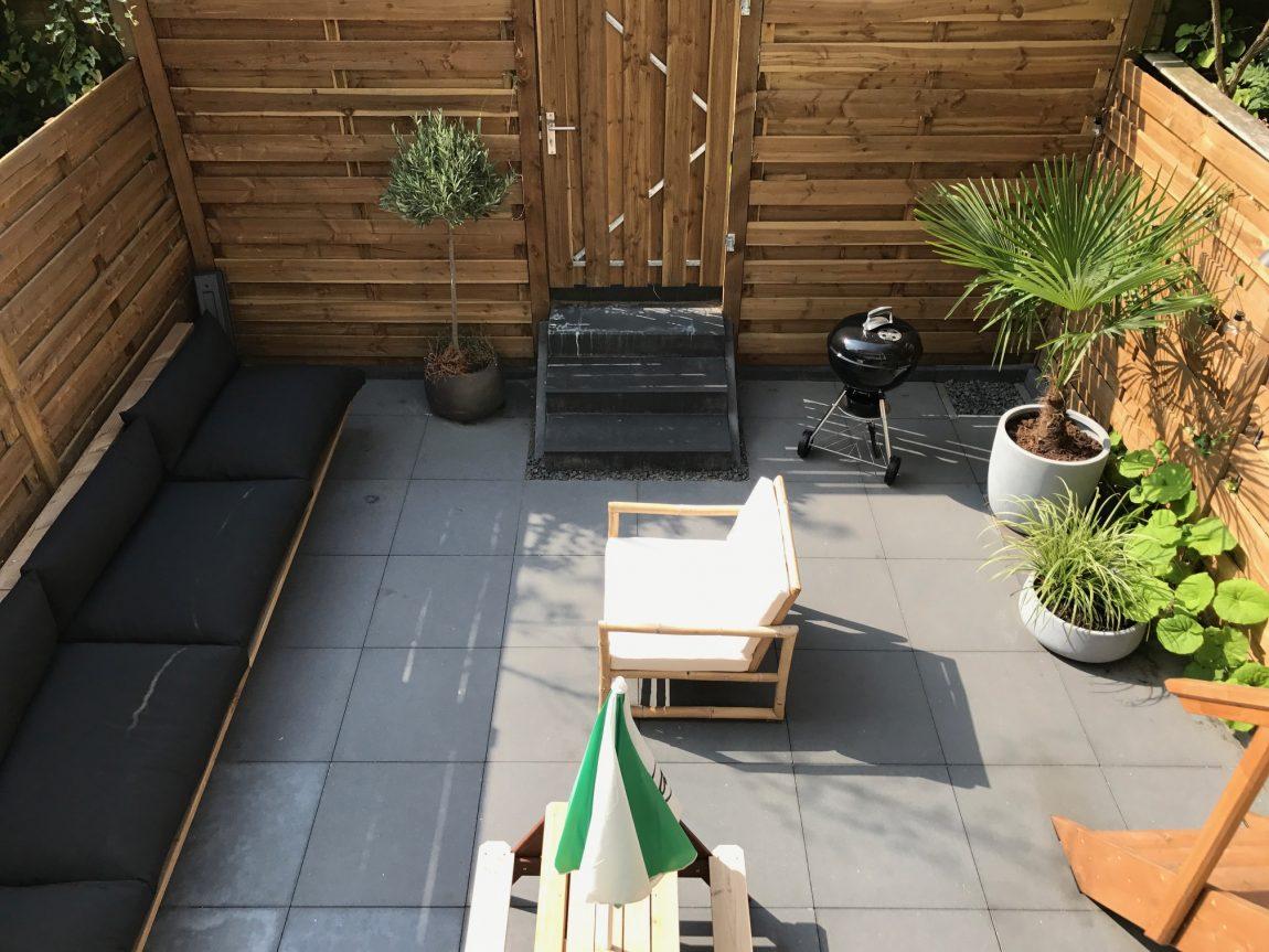 Houten tuinbank maken op maat