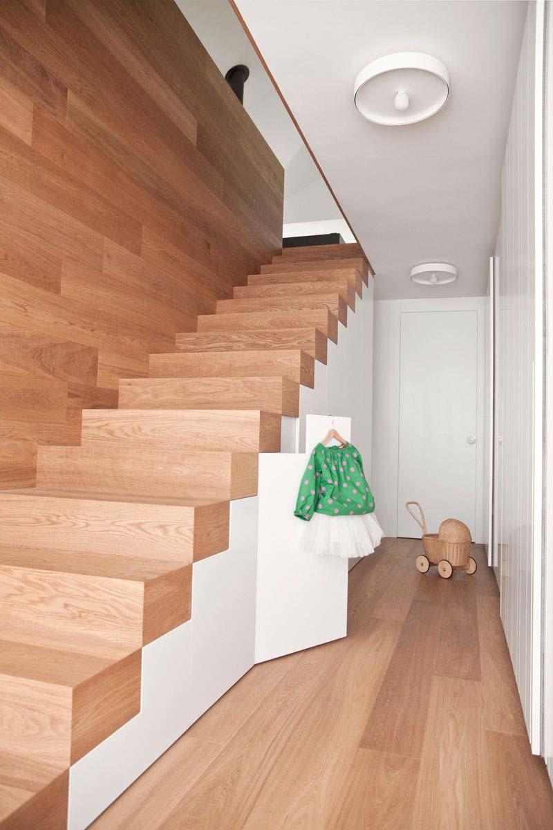 houten vloer op trap