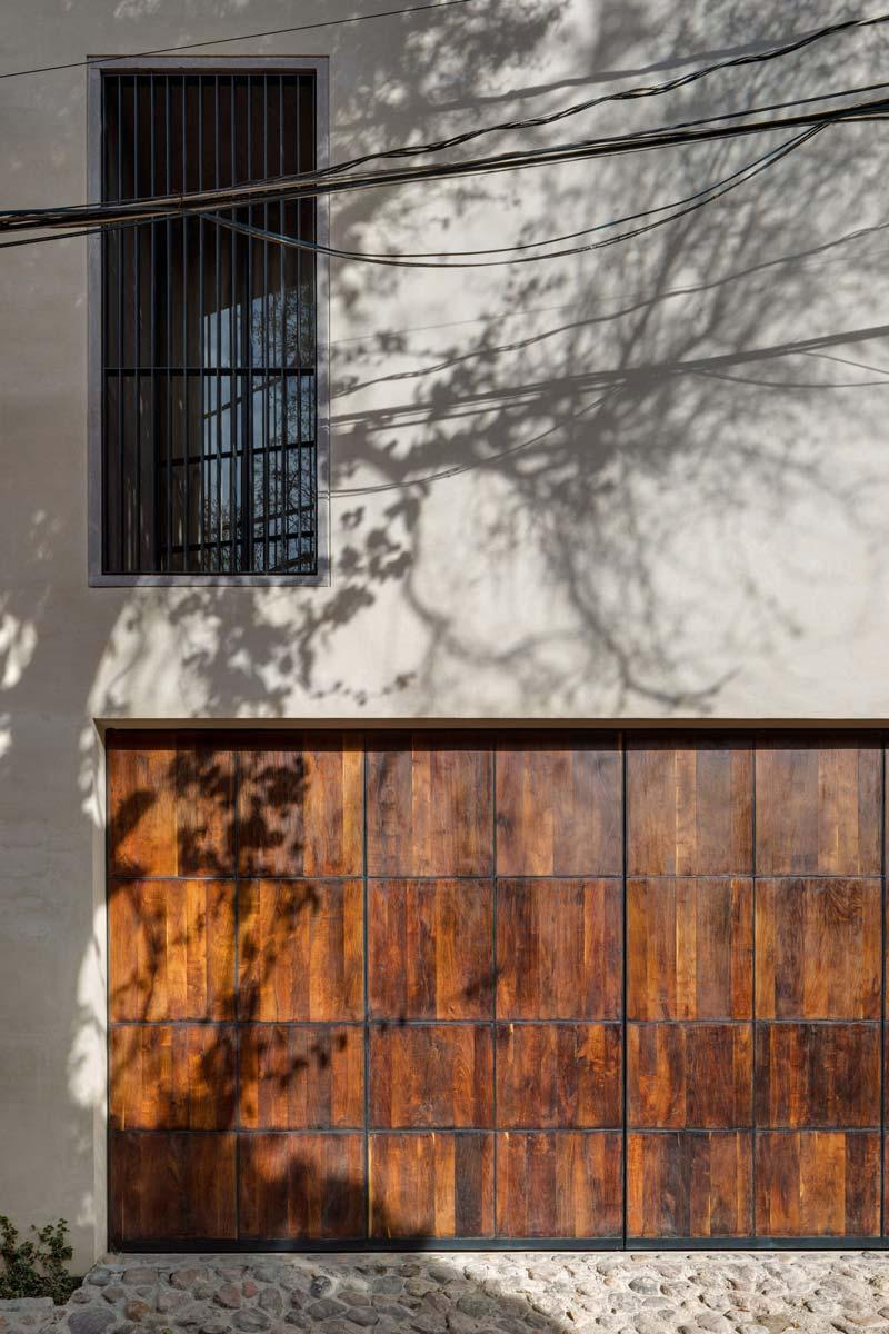 houten voordeur