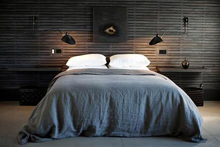 Slaapkamer Interieur Inspiratie : Een houten wand voor de inrichting van je slaapkamer inrichting
