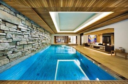 Huis met binnenzwembad