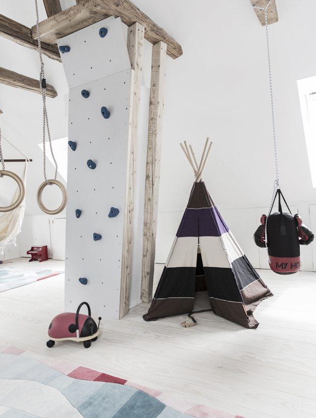 De ideale zolder speelkamer voor het perfecte kinderfeestje!