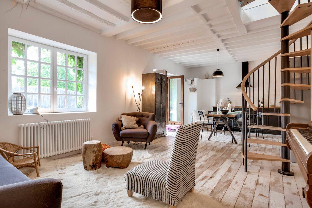 idyllische familiewoning in yvelines inrichting. Black Bedroom Furniture Sets. Home Design Ideas