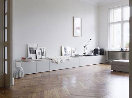 Zwevende Wandkast Ikea.Ikea Besta Kast Inrichting Huis Com