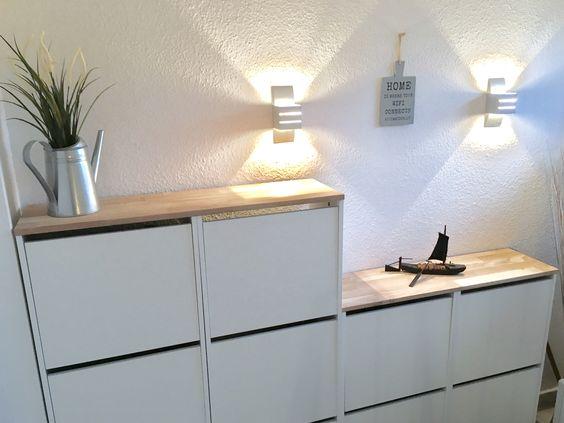 IKEA Bissa schoenenkast plank