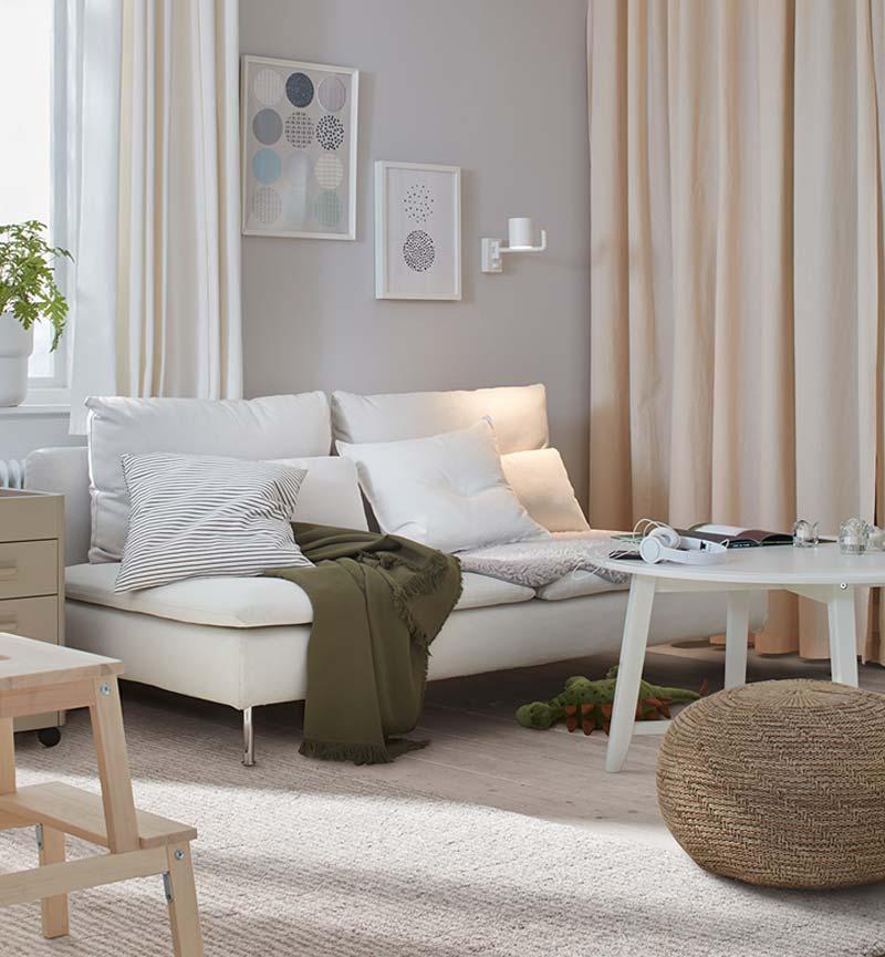 ikea catalogus 2021 gezinswoning woonkamer