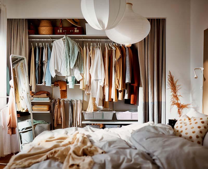 ikea catalogus 2021 warme knusse slaapkamer herfstkleuren