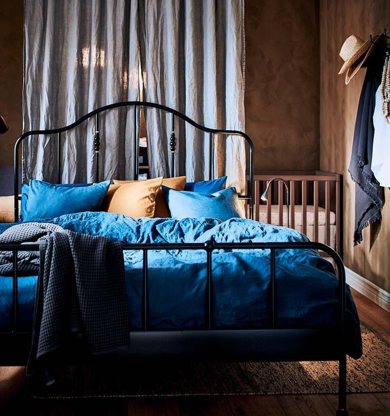 ikea catalogus 2021 warme slaapkamer