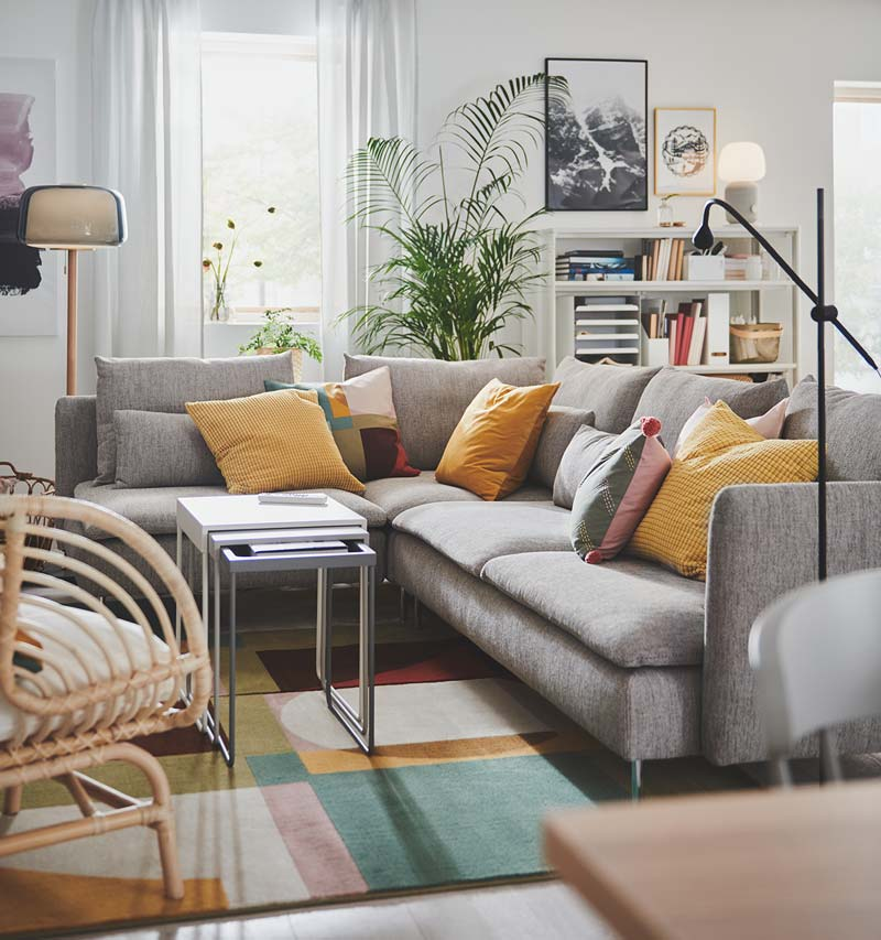 ikea catalogus woonkamer soderhamn bank