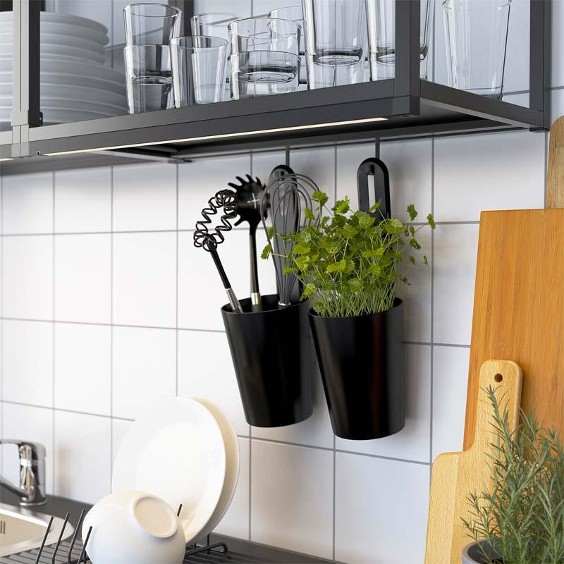 ikea enhet keuken opberger ophangen