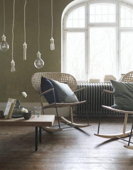 IKEA GRÖNADAL schommelstoel