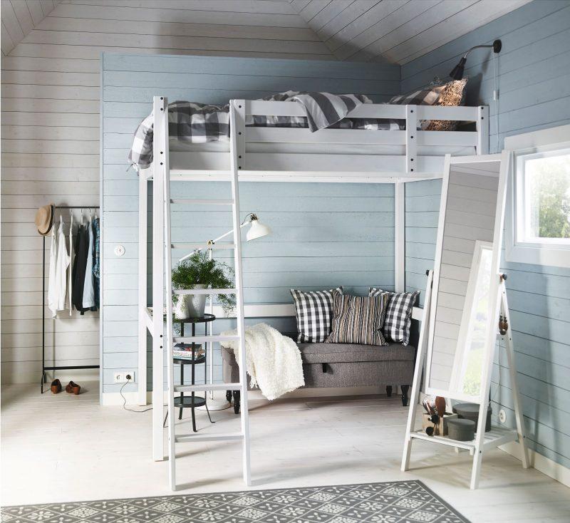 IKEA hoogslaper voor volwassenen