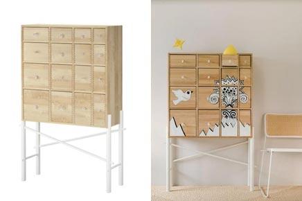 ikea kast gepimpt with ikea gangkast. Black Bedroom Furniture Sets. Home Design Ideas