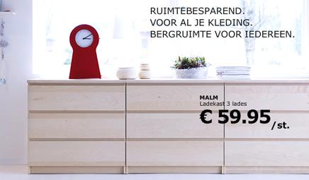 IKEA ladekasten  Inrichting-huis.com
