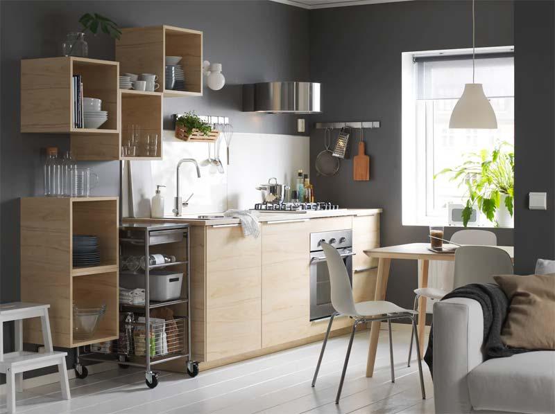 Scandinavische IKEA keukens
