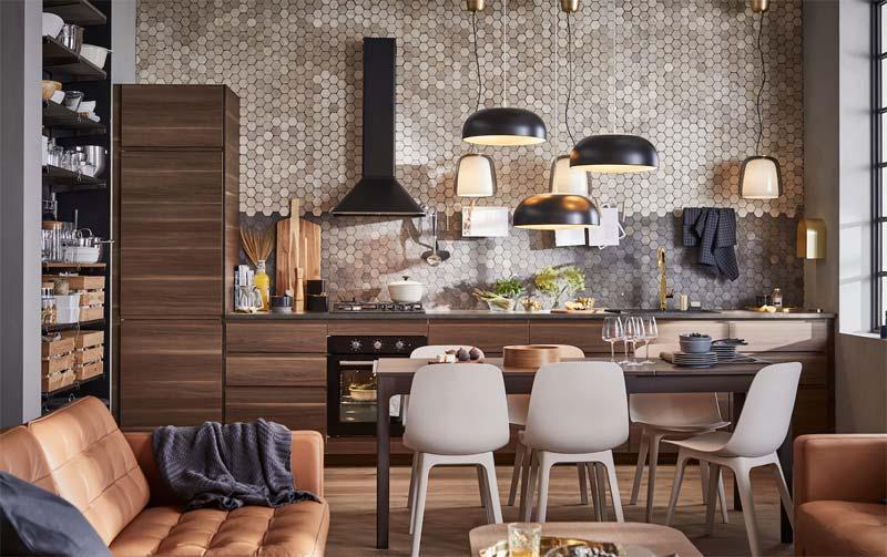 Vintage keuken van IKEA